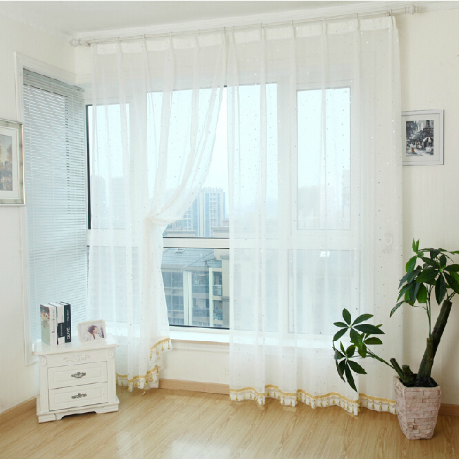 White Sheer Curtains With Designs BestCurtains