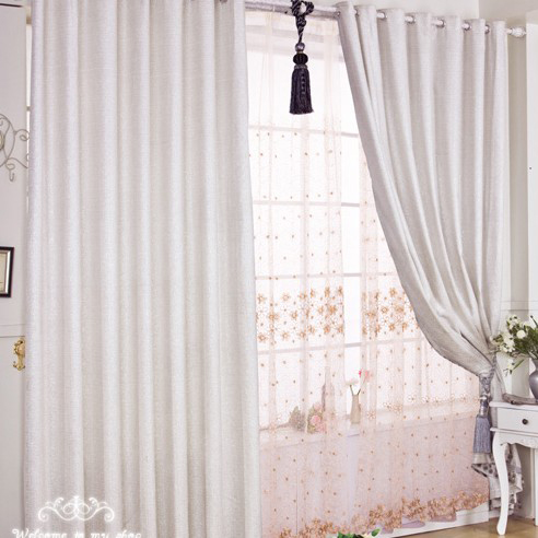 white curtains for living room mirrors in the discount polyester and cotton bedroom or loading zoom