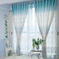 Blue and white curtains myideasbedroom com