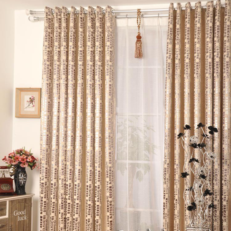 Living Room Or Bedroom Perfect Curtains With Words Of Polyester