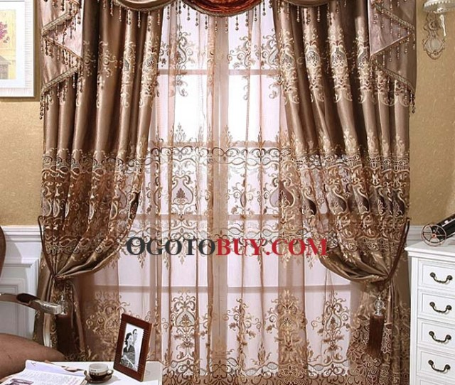 Loading Zoom Great Sale Bargain Embroidery Energy Saving Curtains
