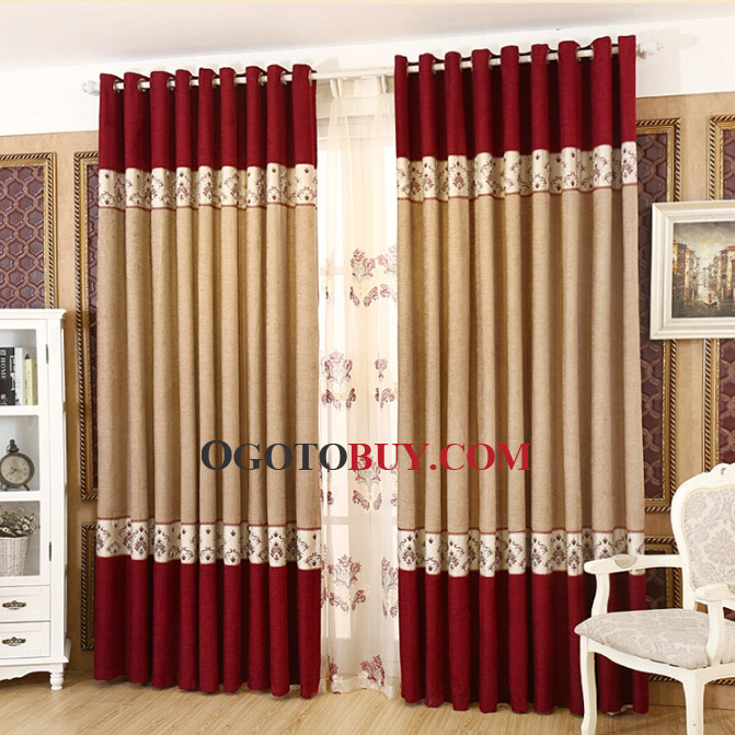 Nice Curtains simple design curtain designs for bay windows curtain Traditional Chenille Nice And Beautiful Bedroom Curtains Buy Red