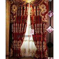 Maroon Sheer Curtains. You Have A Talent Not Many Have