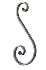 Kovani element Asimetrično S