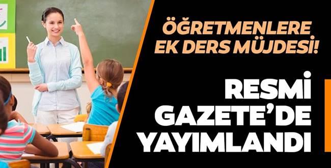 Ücretli Öğretmenlere Tatilde Ekdersler Ücretleri Ödenecek