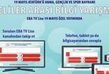 Photo of EBA TV Lise 19 Mayıs Özel Yayınında Liseliler Arası Bilgi Yarışması