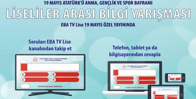 EBA TV 19 Mayıs Bilgi Yarışması