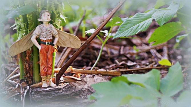 Elfy w ogrodzie - Emil