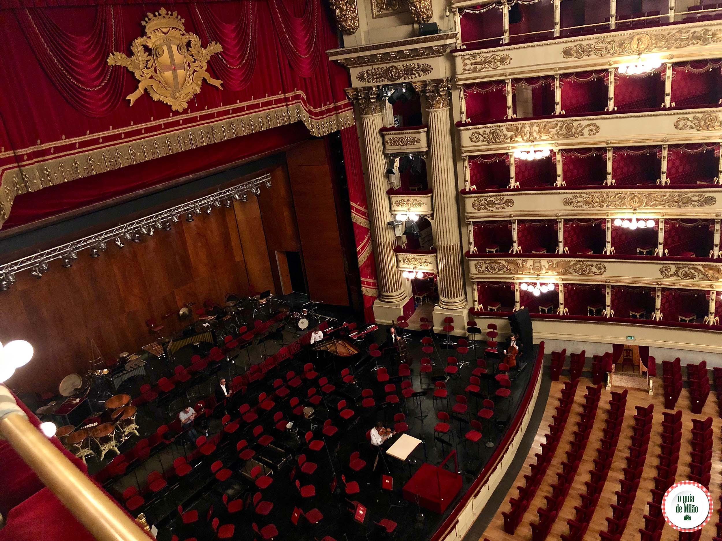 Teatro alla Scala  O Guia de Milo