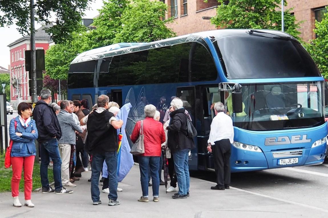 Ankunft in Ravensburg