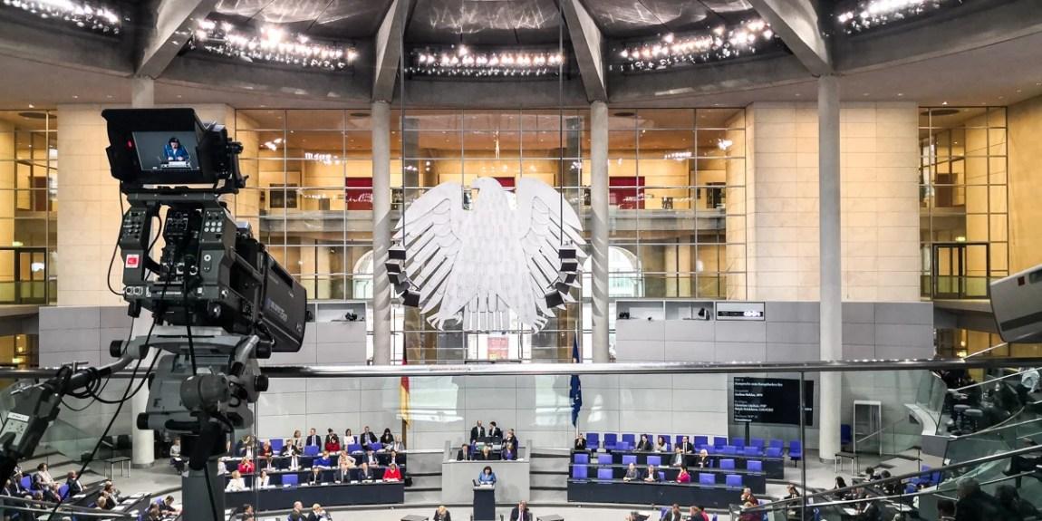 Plenarsitzung im Bundestag