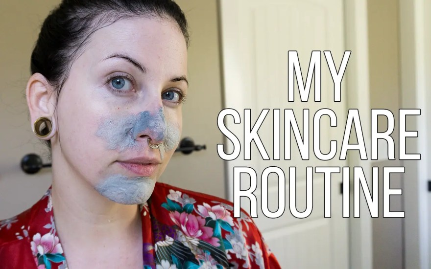 A skincare routine for dry skin!
