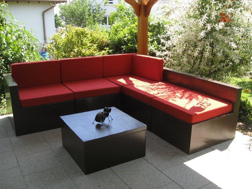 Carton salon de jardin l - Coussin pour salon de jardin en palette ...