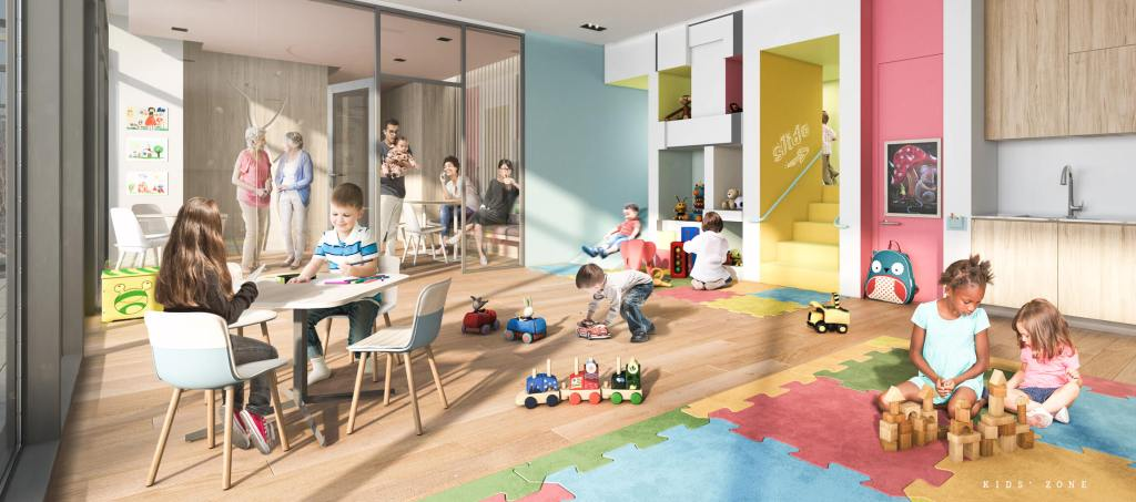 Family condos with amenities for children