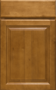 This is a picture of G Sunset Beech cabinet door attached to cainbet.
