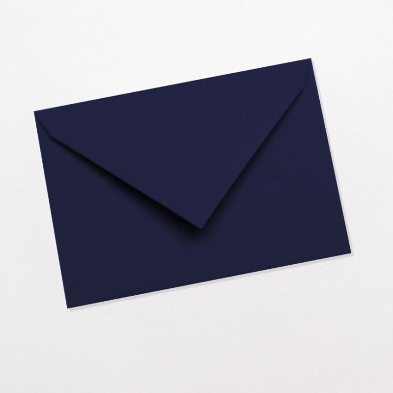 gekleurde enveloppen donkerblauw marineblauw navy blauw