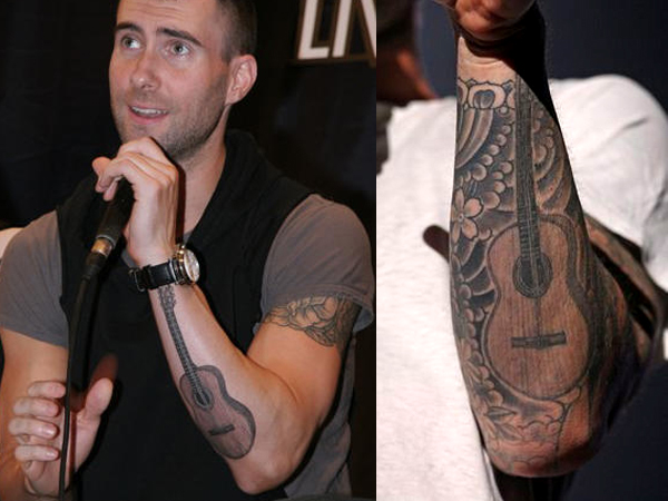 Adam Levine Tattoo Meaning