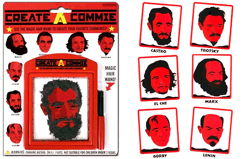 Create A Commie (Images courtesy Stupid.com)
