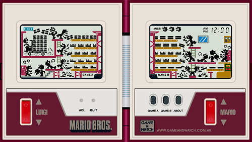 Mario Bros. Game & Watch