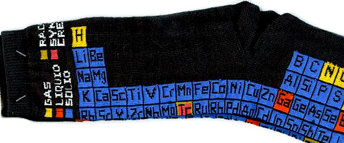 table of elements socks