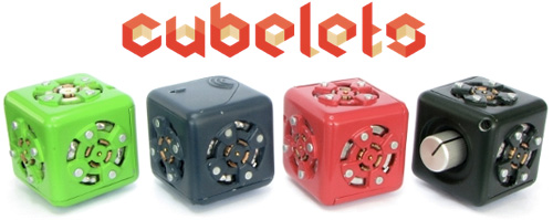 Cubelets - Modular Robotic Building Blocks (Image courtesy Modular Robotics)