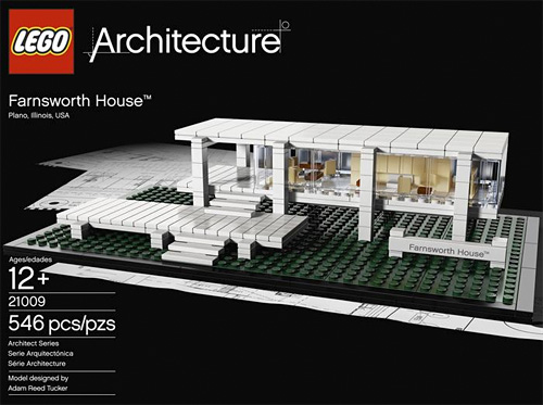 LEGO Architecture Farnsworth House  OhGizmo