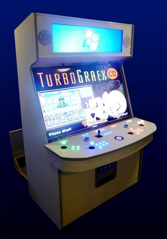 Ultimate Arcade Cabinet With 55Inch Screen Lets You Play