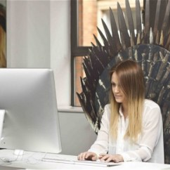 Iron Throne Chair Backboard Church Banquet Chairs Want This Ohgizmo