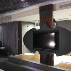 Bat Living Room Chair Styles For Your Batcave Awaits: Batman-themed Hotel Is Awesome ...