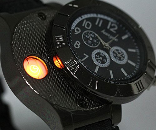 This Watch Will Light Your Cigarette  OhGizmo