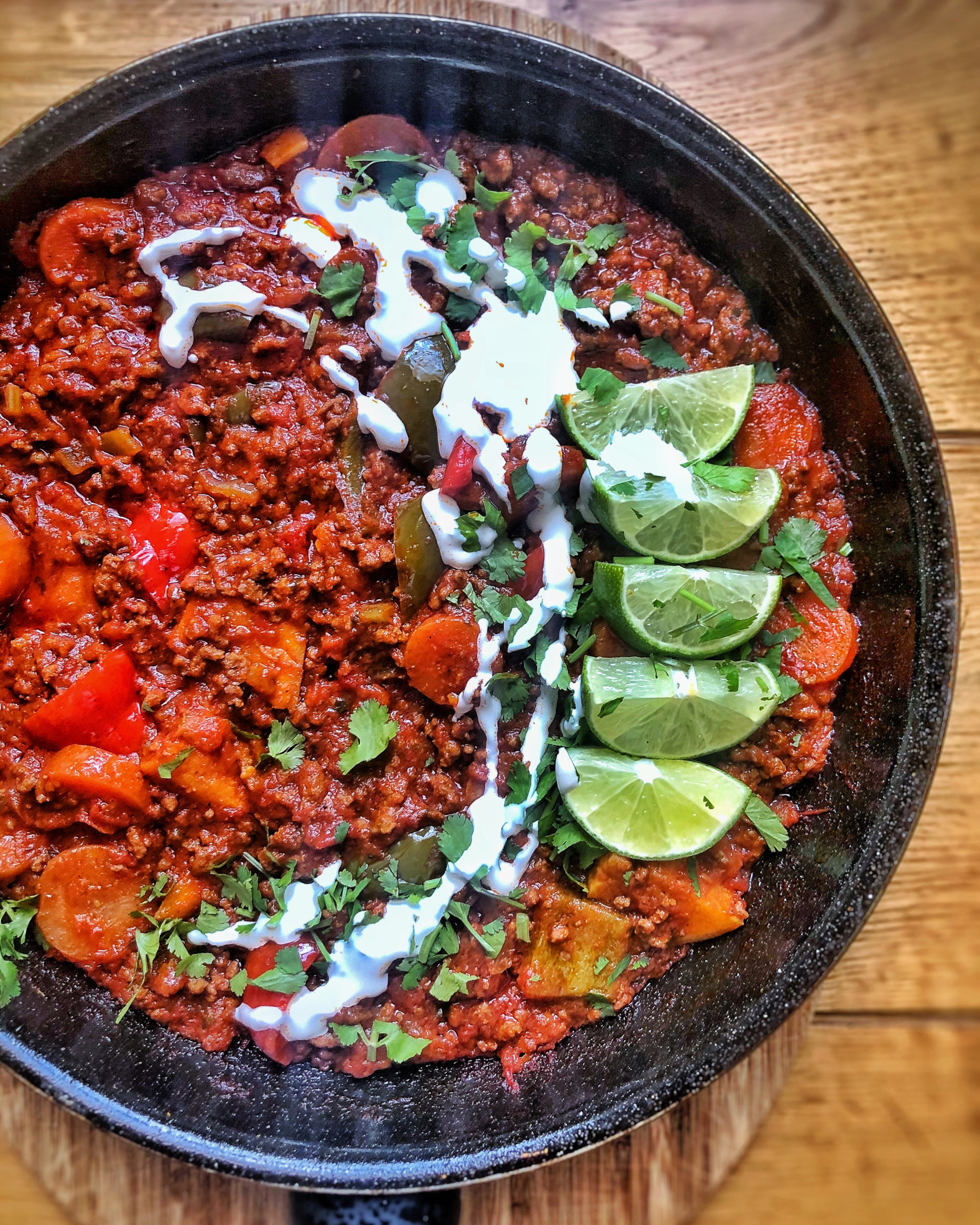 Best Ever Beef Chilli (keto)