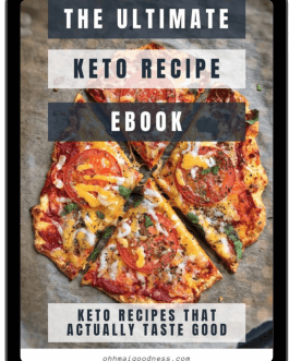 The Ultimate Keto recipe ebook – Keto Recipes that actually taste good