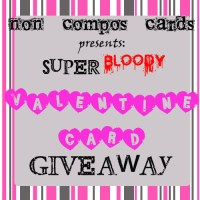 non compos V-Day card giveaway! CONTEST CLOSED
