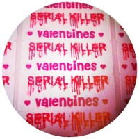 CONTEST CLOSED non compos cards Presents: Serial Killer Valentines Giveaway!