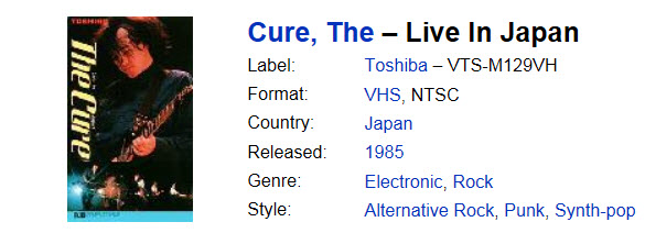 the cure tokyo