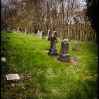 Family Time at the Cemetery