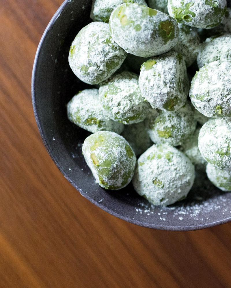 Matcha (Green Tea) Lemon Meltaway Cookies recipe