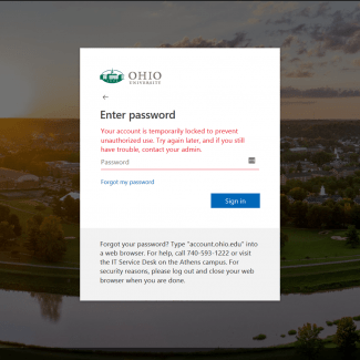 Common Login Problems | Ohio University
