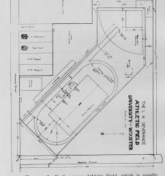 diagram for severance athletic field 1914 [ 3120 x 4548 Pixel ]