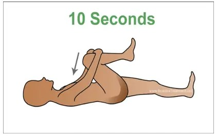 How to relieve sciatica pain in 60 seconds the ohio neck back this will help stabilize your core during this exercise lift and lower your legs as a unit without allowing your feet to touch the floor sciox Images