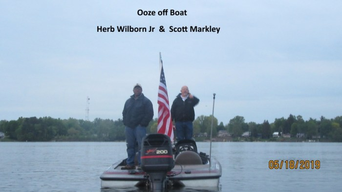 Ooze Off Boat - Herb Wilborn Jr & Scott Markley