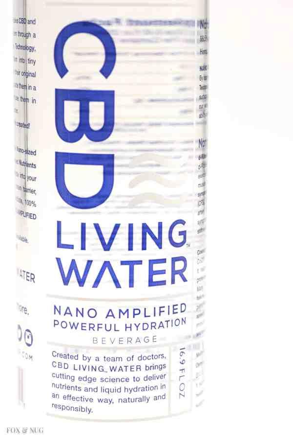CBD Living Nano Water 3