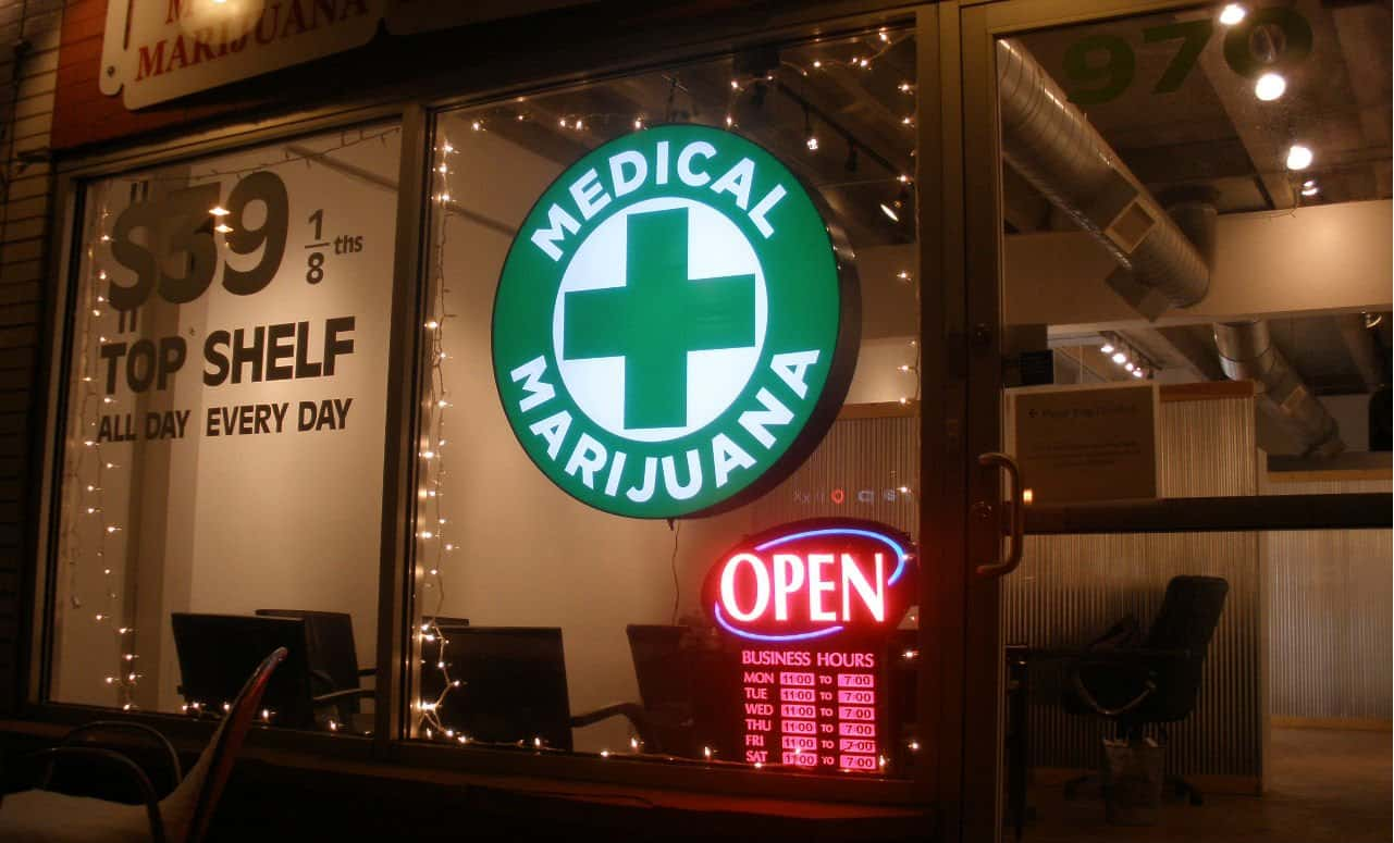 Open Marijuana Dispensary