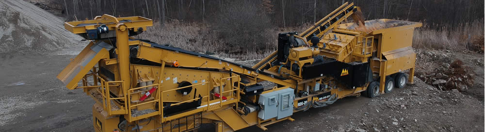 IROCK crushing and sreening equipment