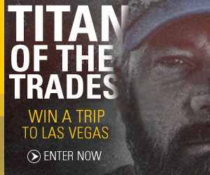 Titan of the Trades Sweepstakes