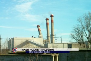 Trash Burning Power Plant: Implosion