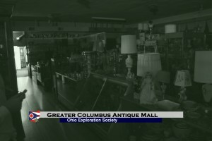 Columbus Antique Mall: Tapping