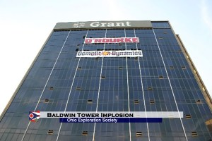 Baldwin Tower: Implosion