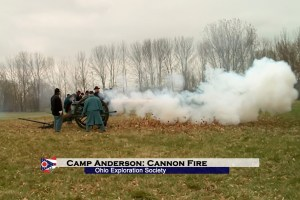 Camp Anderson: Cannon Fire
