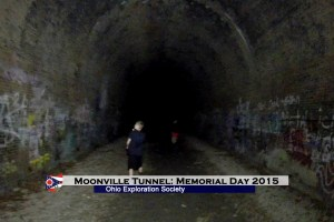 Moonville Tunnel: Memorial Day 2015